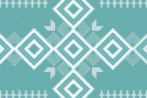 geométrico, étnico, oriental, ikat, seamless, patrón, tradicional, diseño de fondo vector