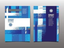 Sport Design Layout template Design  Sport Background vector