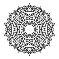 Decorative mandala design Vector