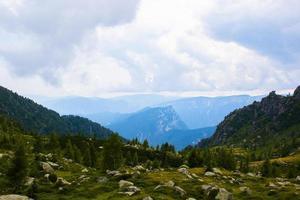 Beautiful alpine path on the Lagorai photo