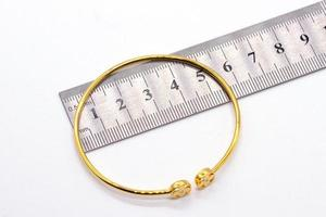 Diamond beacelet 9k gold photo