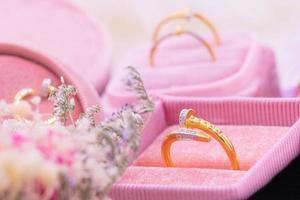 Diamond ring 9k gold photo
