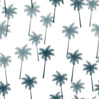 Tropical Palm Leaves Seamless Pattern Background vector