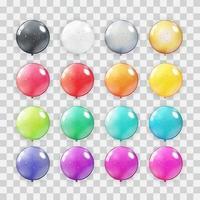 Balloons Collection Set vector