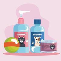 pet shop icons vector