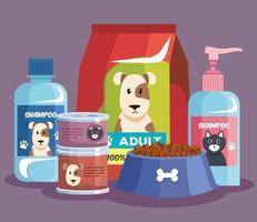 mascot shop products vector