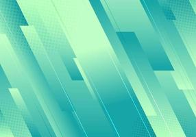 Abstract simple background green gradient color diagonal stripes  and line layered with halftone minimal style vector