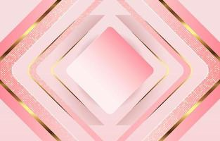 Pink Rose Sparkle Elegant Diamond Background vector