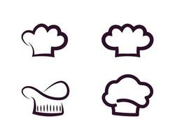 chef logo classical cook catering vector design
