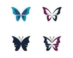 ANIMAL Butterfly conceptual simple CONCEPT BEAUTY ANIMAL INSECT vector