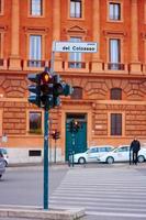 calle en roma, italia foto