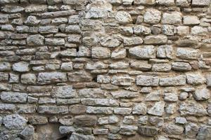 viejo muro de piedra foto