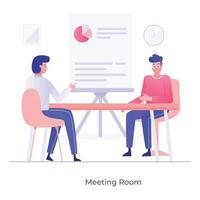 Meeting Room and conference vector