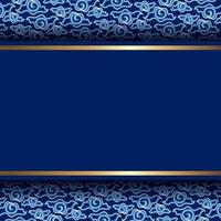 Indonesian Batik Style Background vector