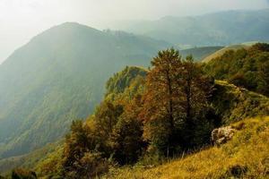 Lessini Mountains near Campofontana, Verona, Veneto, Italy photo