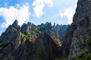 Peaks of the small dolomites around Recoaro photo