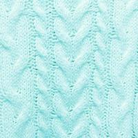 Turquoise blue knitted textured pattern Square background photo