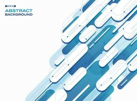 Fondo de patrón de líneas de elipse raya azul degradado abstracto. vector