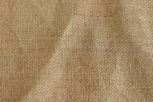 tela de saco marrón textura de fondo arpillera fibra foto