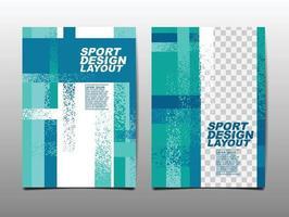 Sport Design Layout template Design set vector