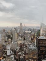 New York City, 2018- Manhattan street skyline photo