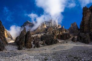 Peaks of the Dolomites photo