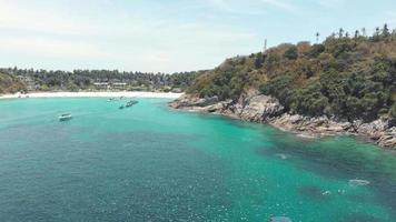 Tropical beach of Koh Racha Island. Paradisiac holidays destination video