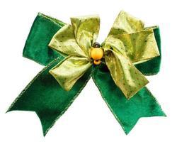 lazo de color verde foto