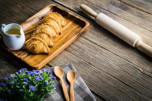 Curry puff pastry photo