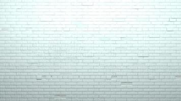 Background wall old white painted brick photo
