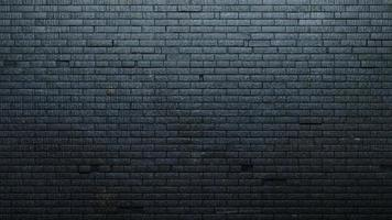 Background wall old black painted brick photo