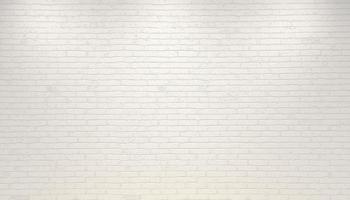 White old brick wall background photo