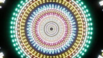 Fondo de racha de luz colorida 4k 01 video