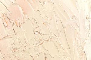 pared pintada de color crema foto