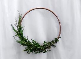 Wedding decorative frame photo