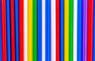 Colorful tube abstract background photo