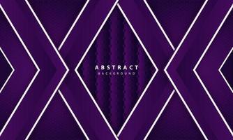 Abstract elegant dark purple on overlap layer background vector