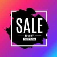 Sale and discount promo backgrounds with abstract pattern vector