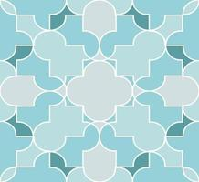 Abstract muslim seamless pattern background vector