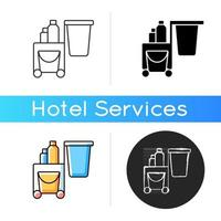 Cleaning service icon vector