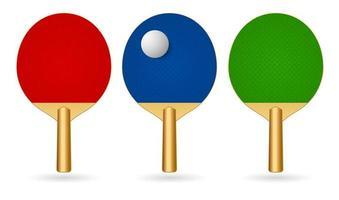 ping pong racket vector
