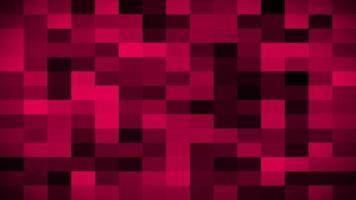 animation de boucle parfaite fond rouge pixélisé video