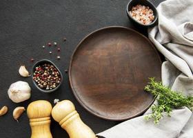 utensilios de cocina de madera foto