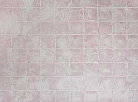 Pink square tiled texture background photo