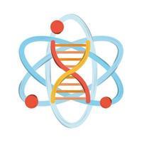 bioengineering dna atom vector