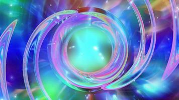 Abstract iridescent background texture design video