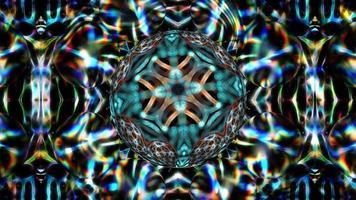 Fondo de textura abstracta de esferas giratorias video