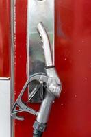 Closeup a Fuel nozzle photo
