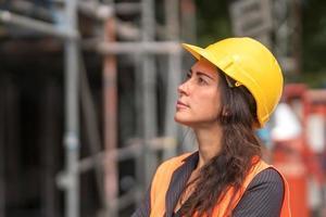 Woman engineer profile photo