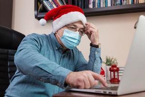 difícil navidad en línea felicitaciones foto